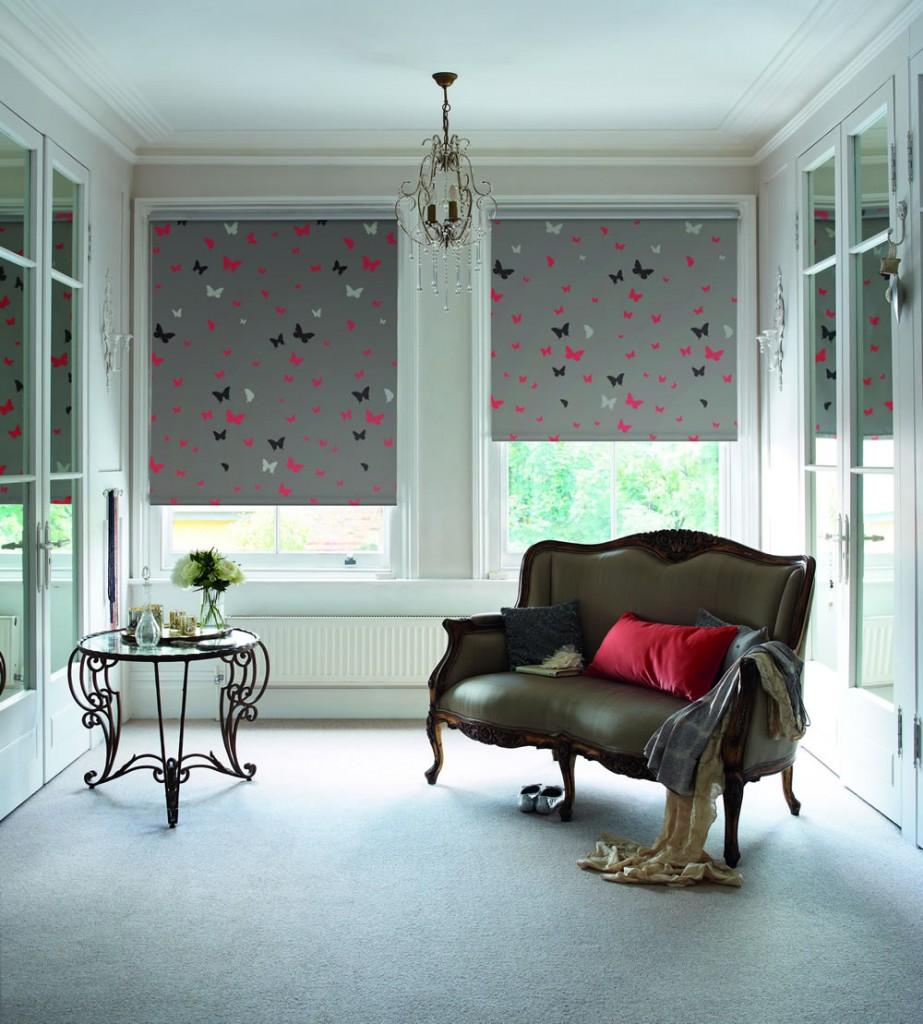 patterned roller blinds ashurst blinds roller. Black Bedroom Furniture Sets. Home Design Ideas